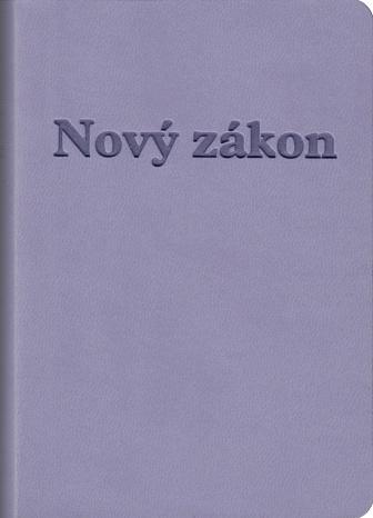 Nový zákon a Žalmy / DK - fialová obálka