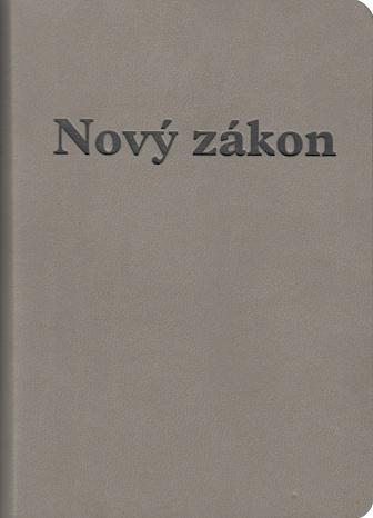 Nový zákon a Žalmy / DK - sivá obálka