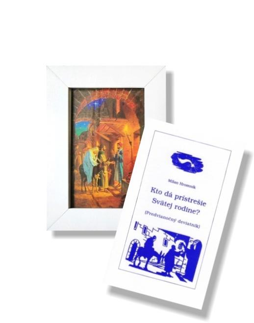 Obraz: Svätá rodina (A6) + Kto dá prístrešie Svätej rodine?