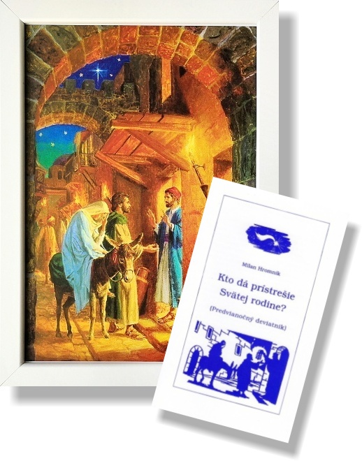 Obraz: Svätá rodina (A4) + Kto dá prístrešie Svätej rodine?