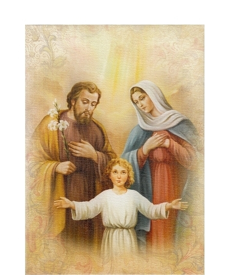 Obraz na plátne (2963) - Svätá rodina