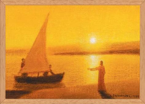 Obraz: Kristus povoláva Petra a Ondreja za apoštolov (30x20)