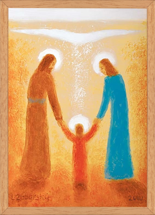 Obraz: Svätá rodina (30x20)