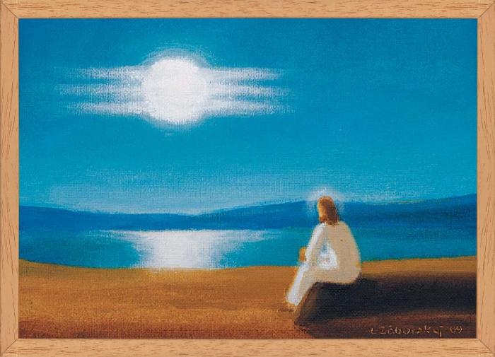 Obraz: Kristus pri modlitbe (40x30)