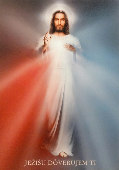 Obraz na dreve (ODZ077-4030) Božie milosrdenstvo
