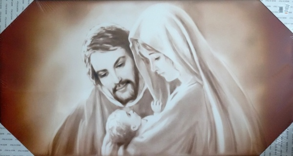 Obraz na plátne (OPZ007) Svätá rodina (100x60)