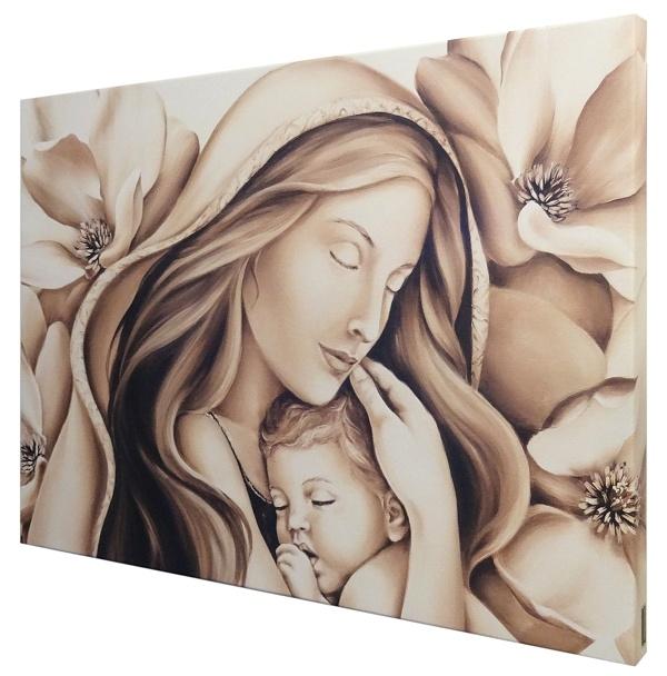 Obraz na plátne (67330) - Matka s dieťaťom