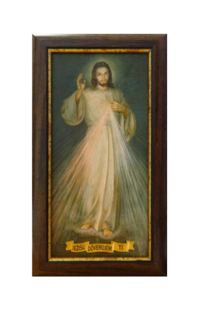 Obraz na plátne (MAJ 01) B Božie milosrdenstvo