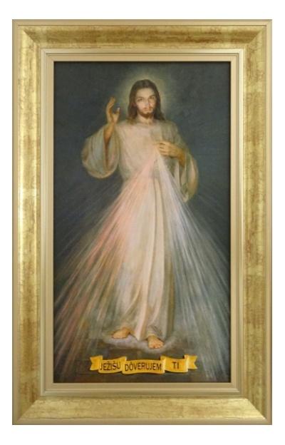 Obraz na plátne (15043) Božie milosrdenstvo