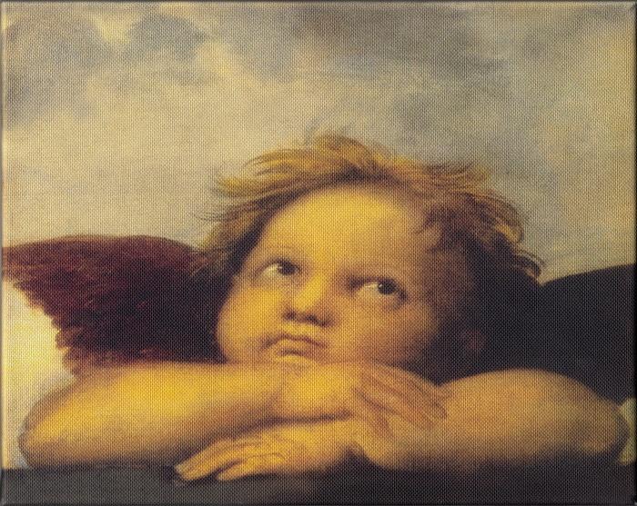 Obraz na plátne: Anjel 1 (Michelangelo)