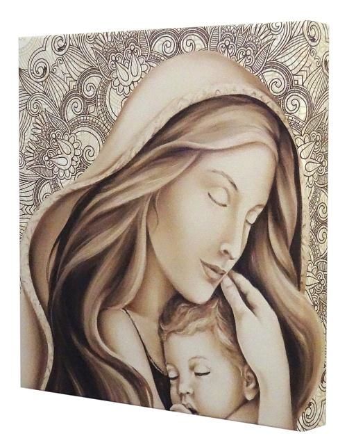 Obraz na plátne (G2308) - Matka s dieťaťom