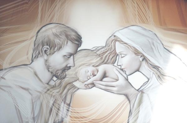 Obraz na plátne: Svätá rodina (OPZ001)