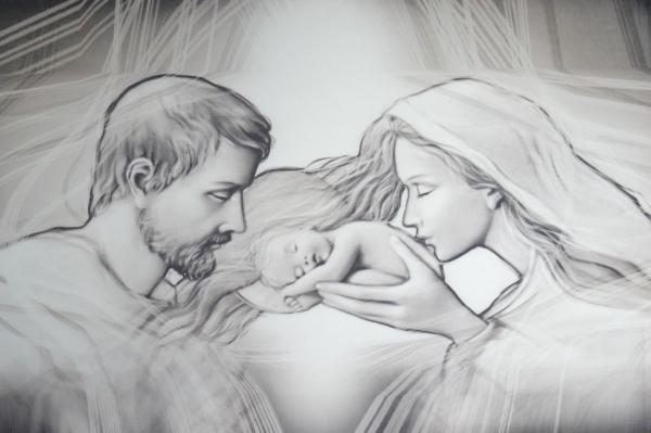 Obraz na plátne: Svätá rodina (OPZ002)