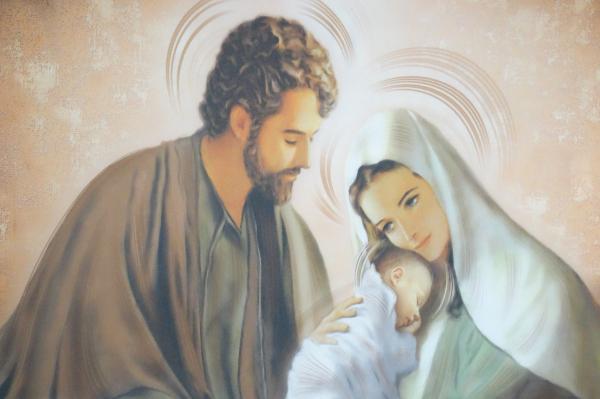 Obraz na plátne: Svätá rodina (OPZ005)
