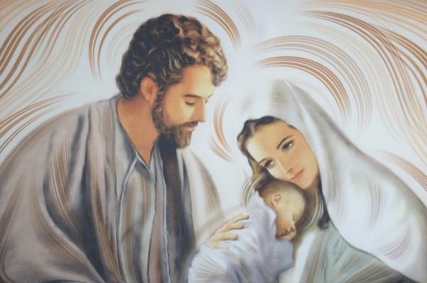 Obraz na plátne: Svätá rodina (OPZ008)