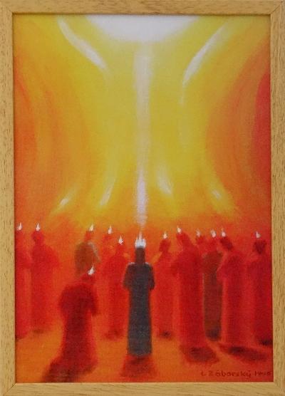 Obraz: Zoslanie Ducha Svätého (40x30)
