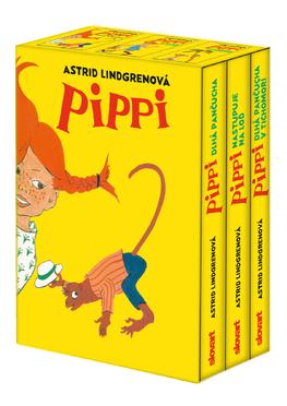 Pippi Dlhá pančucha (3-dielny set)