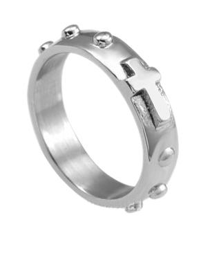 Prsteň (5648-17) Ruženec - OX