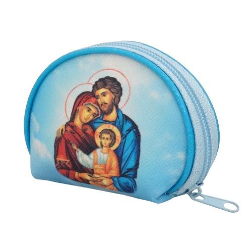 Púzdro na ruženec zips (XP006) - Sv. rodina