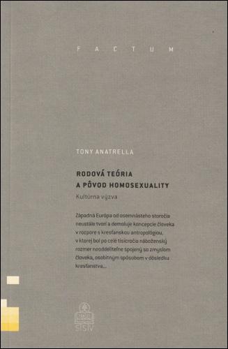 Rodová teória a pôvod homosexuality