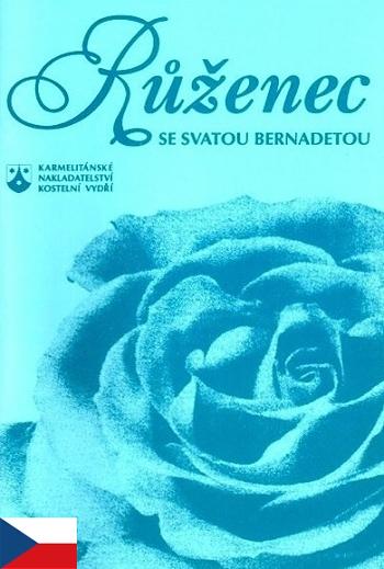 Růženec se svatou Bernadetou