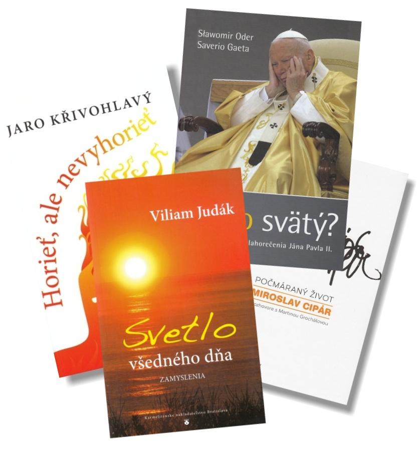 Sada KNA 3 - Horieť, ale nevyhorieť + Počmáraný život + Prečo svätý? + Svetlo všedného dňa