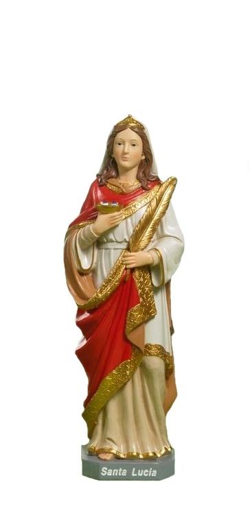 Svätá Lucia (10967C) - 12 cm