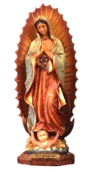 Panna Mária Guadalupská (PB0020) - 33 cm