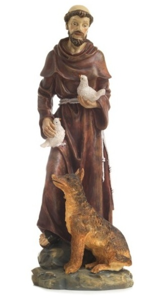 Svätý František (PB5172A) - 30 cm