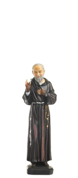 Svätý Páter Pio (PB5473C) - 12 cm