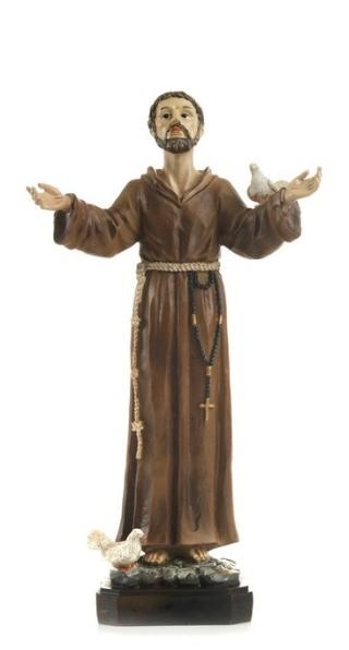 Svätý František (PB6715B) - 20 cm