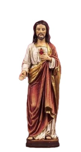 Srdce Pána Ježiša (PB6834) - 20 cm
