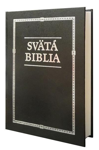 Svätá Biblia - Roháček, rodinný formát - čierna