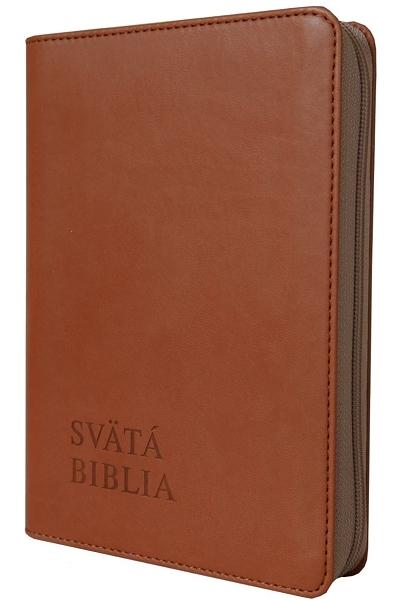 Svätá Biblia / Roháček vrecková - hnedá