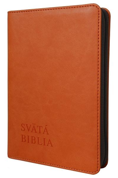 Svätá Biblia / Roháček vrecková - oranžová