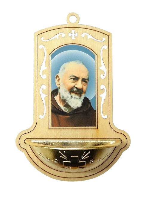 Svätenička drev. (345G) - Svätý Páter Pio