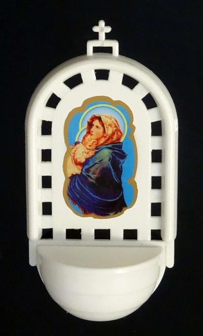Svätenička plast. (SVZ006) - Madona s dieťaťom