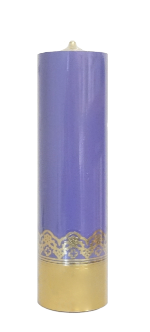 Sviečka olejová (0116-1) - fialová