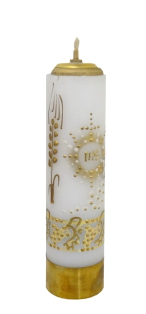 Sviečka olejová (SOM3) - vosková zdobená