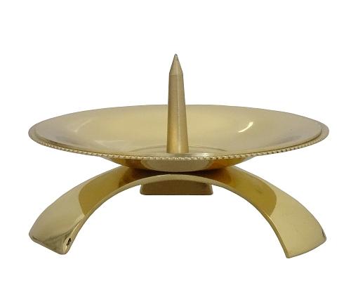 Svietnik kov. (CA1053C) - zlatý