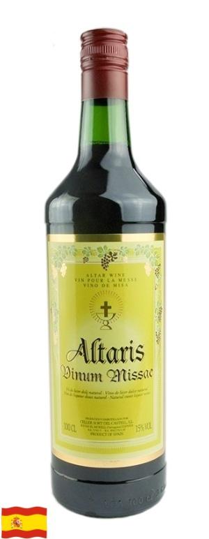 Víno Altaris - červené