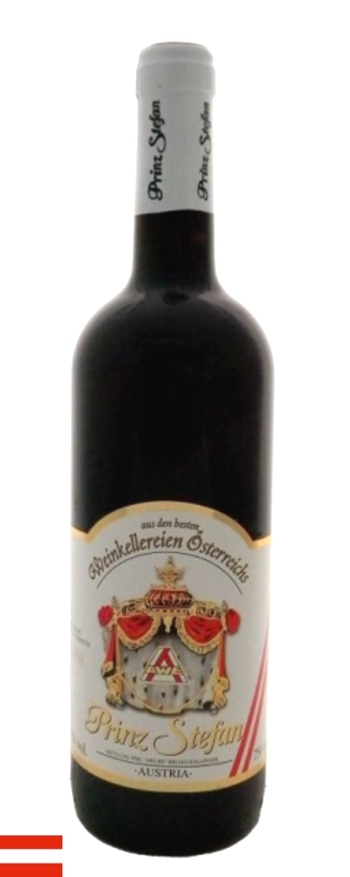 Víno Prinz Stefan - červené polosladké