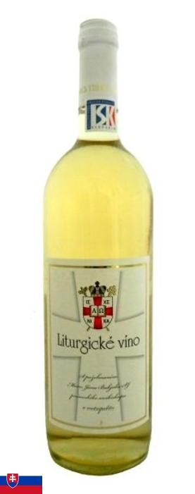 Víno liturgické-biele
