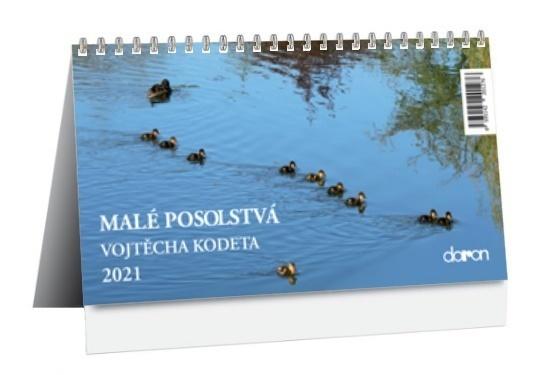 Kalendár 2021 (stolový) Malé posolstvá / doron