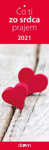 Kalendár: Čo ti zo srdca prajem 2021 (Doron)