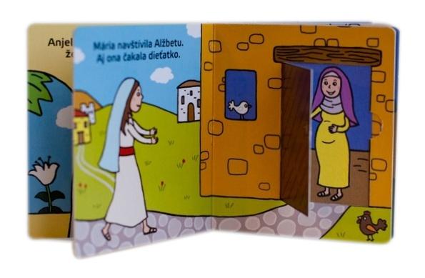 Prvé Vianoce. Knižka s okienkami