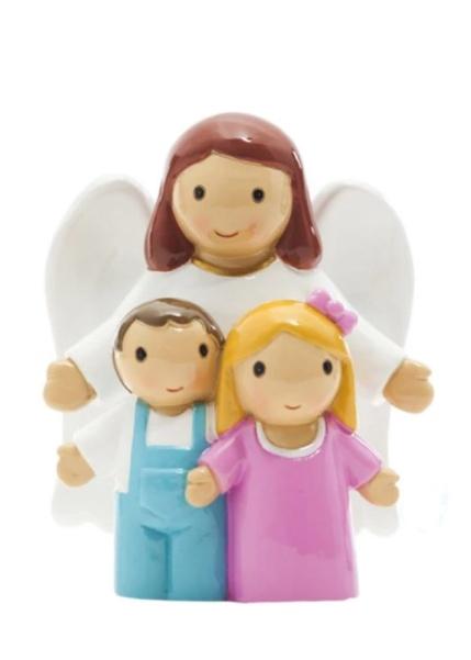 Soška (17294) Anjel strážny s deťmi