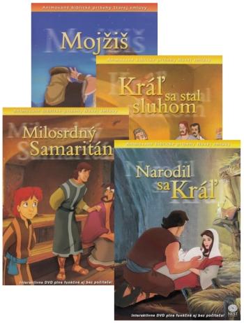 DVD - Animované biblické príbehy (sada 1)