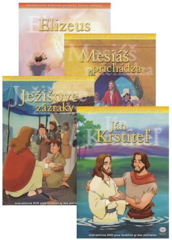 DVD - Animované biblické príbehy (sada 2)