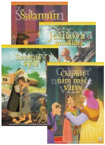 DVD - Animované biblické príbehy (sada 4)